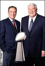 Al Michaels and John Madden