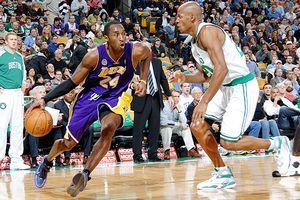 Kobe Bryant and Ray Allen