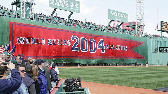 2004 World Series Banner