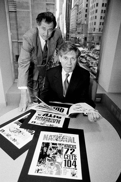 Frank Deford and Peter Price