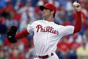 Philadelphia Phillies starting pitcher Cole Hamels