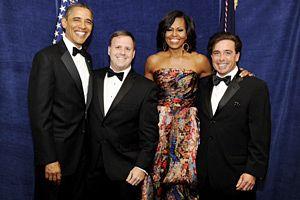 Cousin Sal & President Obama