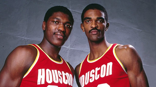 Hakeem Olajuwon and Ralph Sampson