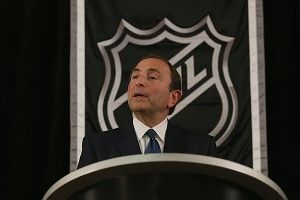 Commissioner Gary Bettman