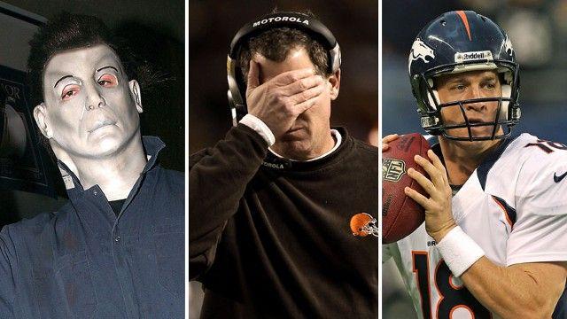 Michael Myers, Pat Shurmur, Peyton Manning
