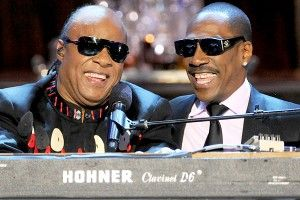 Stevie Wonder, Eddie Murphy