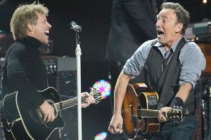 Jon Bon Jovi, Bruce Springsteen