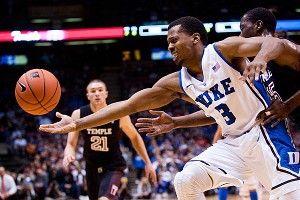 Duke guard Tyler Thornton
