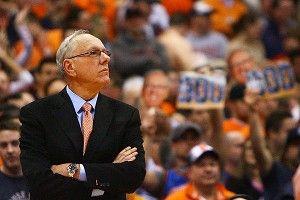 Coach Jim Boeheim of the Syracuse Orange