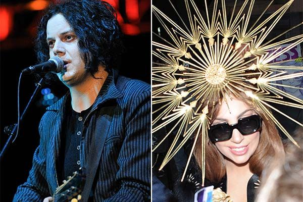 Jack White and Lady Gaga