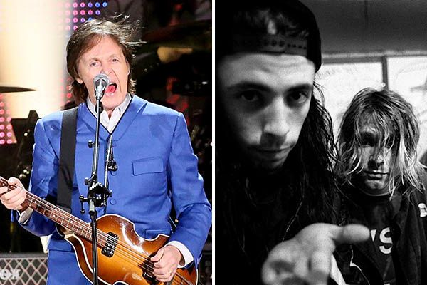 Paul McCartney and Nirvana