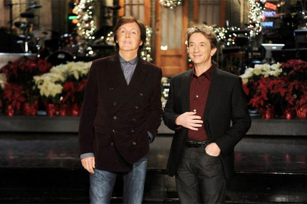 Paul McCartney and Martin Short on SNL