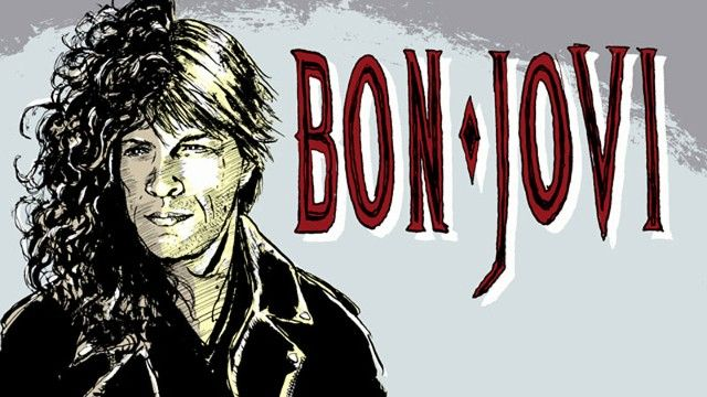 Bon Jovi illustration
