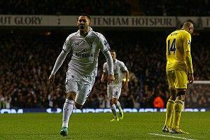 Clint Dempsey of Tottenham Hotspur