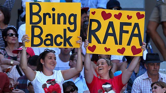 Rafa Nadal fans