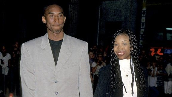 Kobe Bryant and Brandy