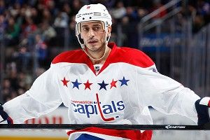 Mike Ribeiro #9 of the Washington Capitals