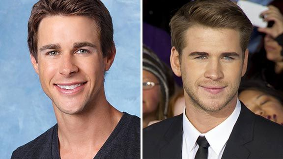 Robert from 'The Bachelorette' and Liam Hemsworth