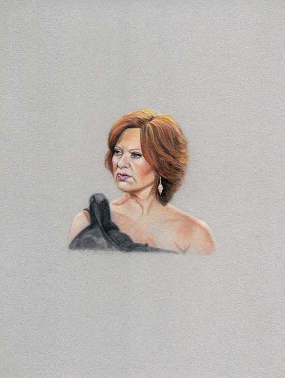 Portrait of Caroline Manzo by Karin Bubas