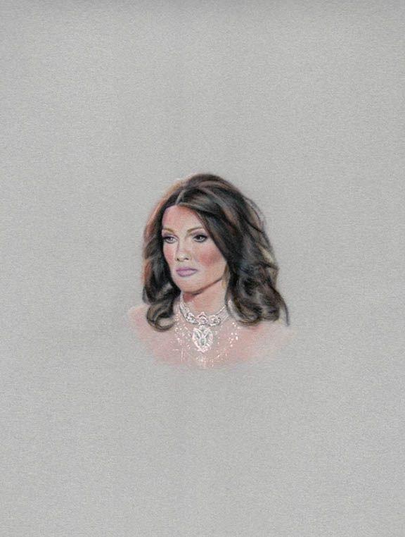 Portrait of Lisa Vanderpump, by Karin Bubas