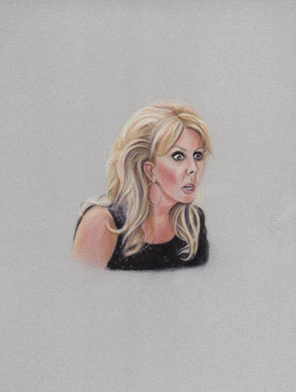 Portrait of Vicki Gunvalson by Karin Bubas