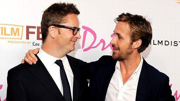 Nicolas Winding Refn and Ryan Gosling