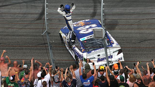 Sprint Cup Series driver Brian Vickers