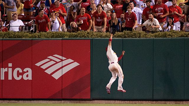 St. Louis Cardinals center fielder Jon Jay