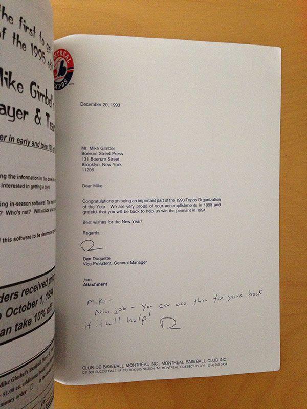 Mike Gimbel Letter - Hua Hsu/Grantland