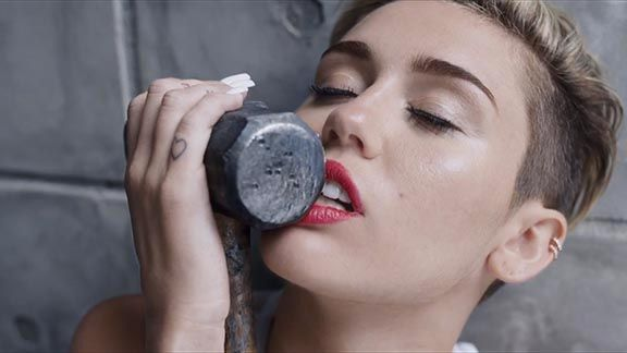 Miley Cyrus's 'Wrecking Ball' Video: A Real-Time Reaction Blog