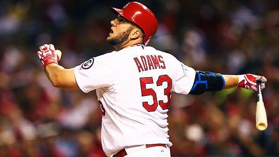 St. Louis Cardinals first baseman Matt Adams
