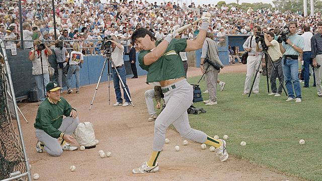 Oakland A's Jose Canseco