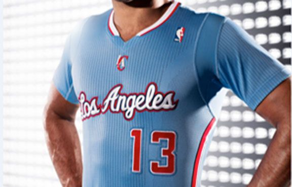 LA Clippers Jersey - Courtesy of NBA