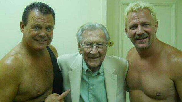 Jerry Lawler, Jeff Jarret - Courtesy of Jeff Jarret