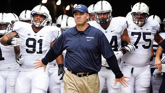 Penn State coach Bill O'Brien