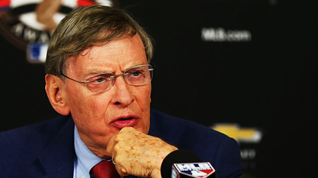 Major League Baseball Commissioner Allan 'Bud' Selig