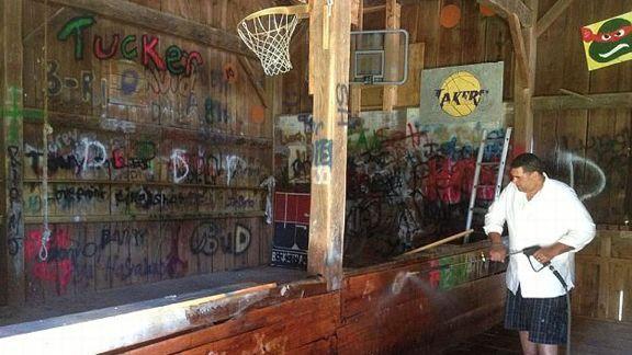 Brian Holloway's Garage