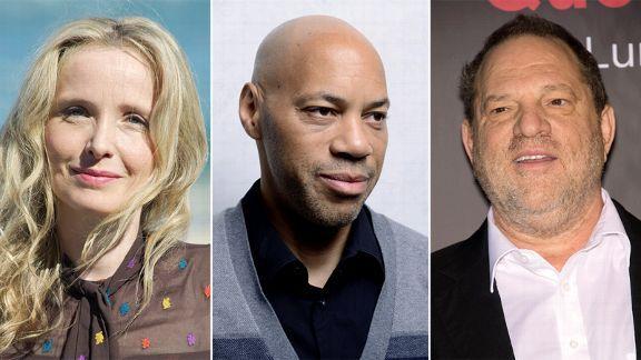 Julie Delpy, John Ridley, Harvey Weinstein