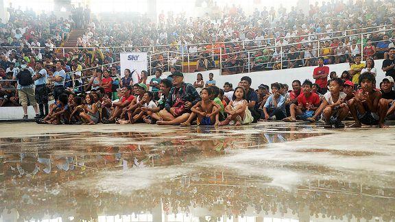 Philippine typhoon survivors
