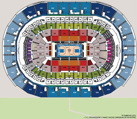 Arena Map - Brian Phillips/Grantland