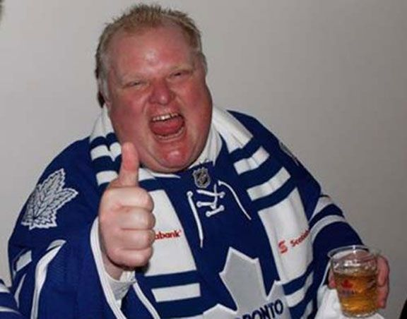Rob Ford, Leafs Jersey - Brian Phillips/Grantland