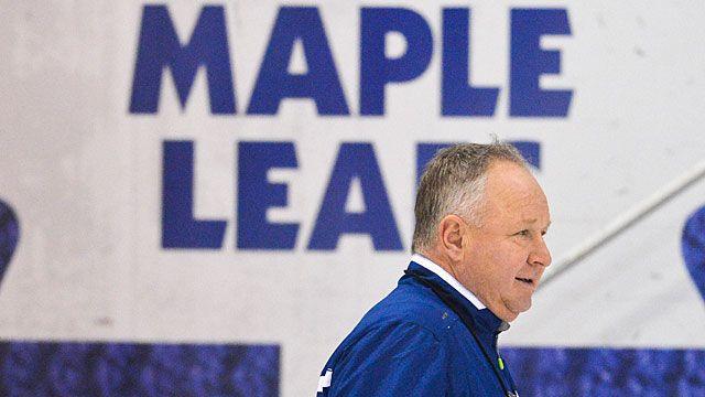 Coach Randy Carlyle