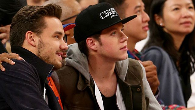 Liam Payne and Niall Horan of One Direction