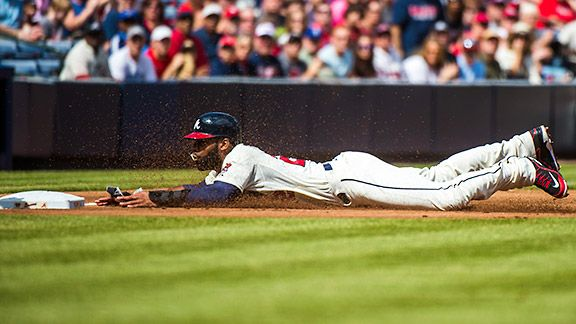 Atlanta Braves' Jason Heyward