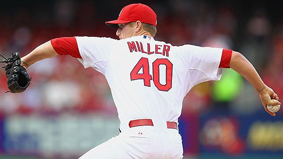 St. Louis Cardinals' Shelby Miller
