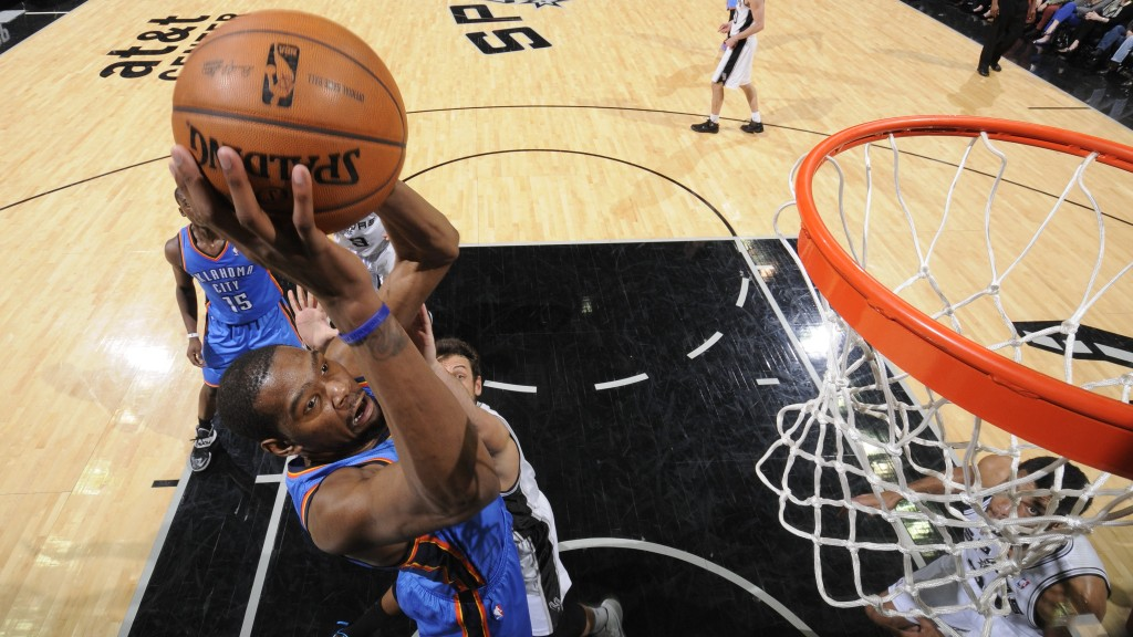 Oklahoma City Thunder v San Antonio Spurs