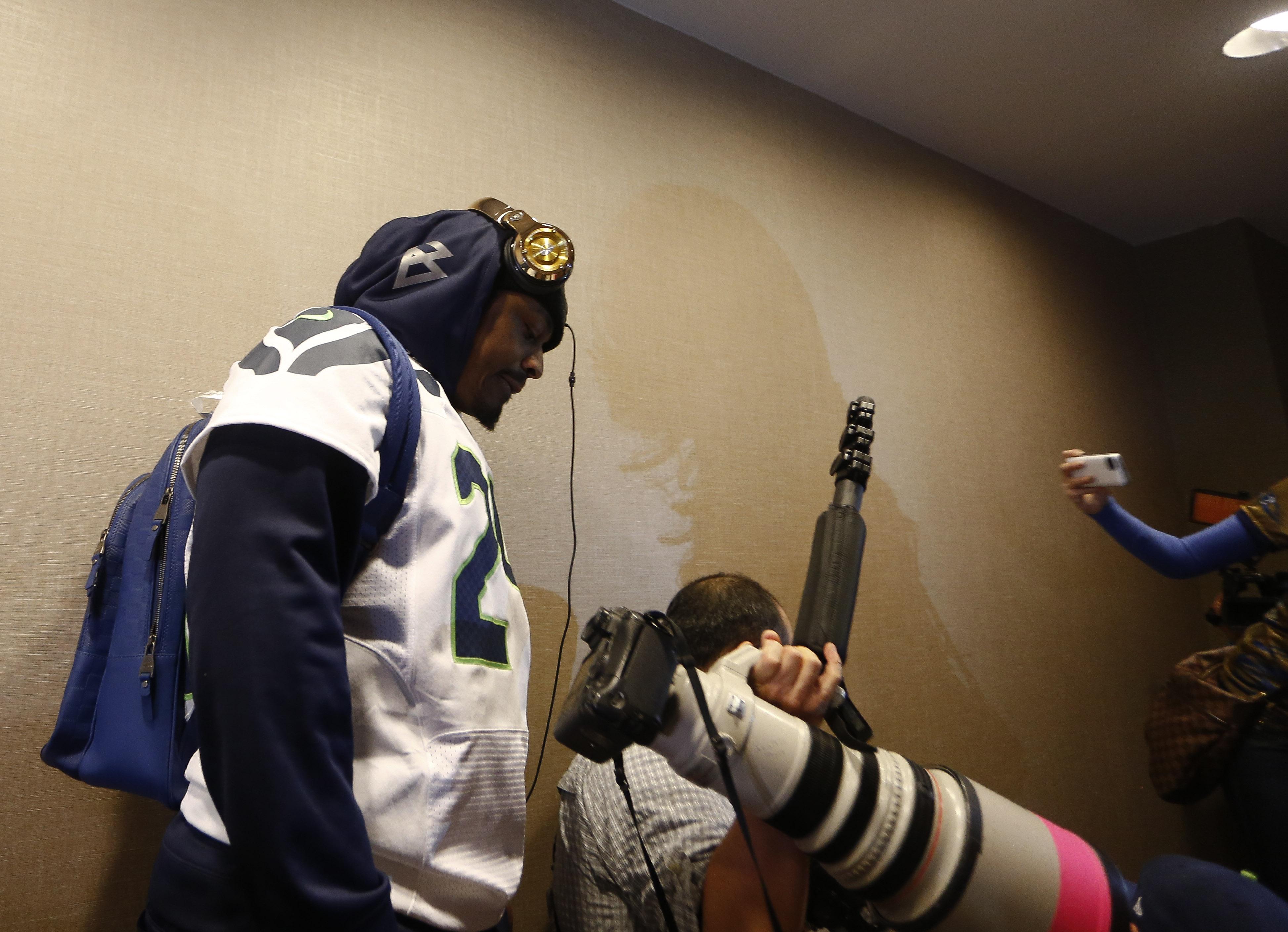 Seattle Seahawks Super Bowl XLVIII Media Availability