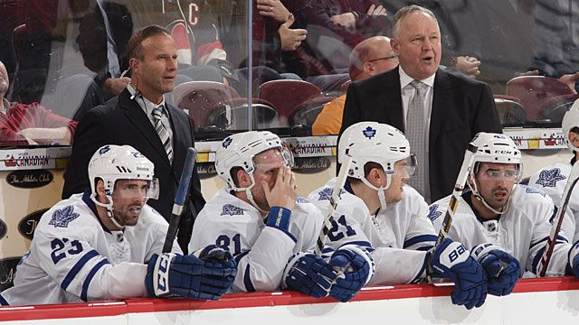Leafs Bench