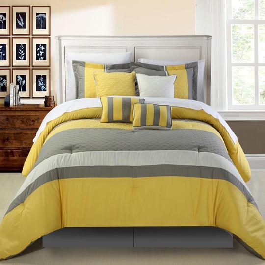 yellowkingbed