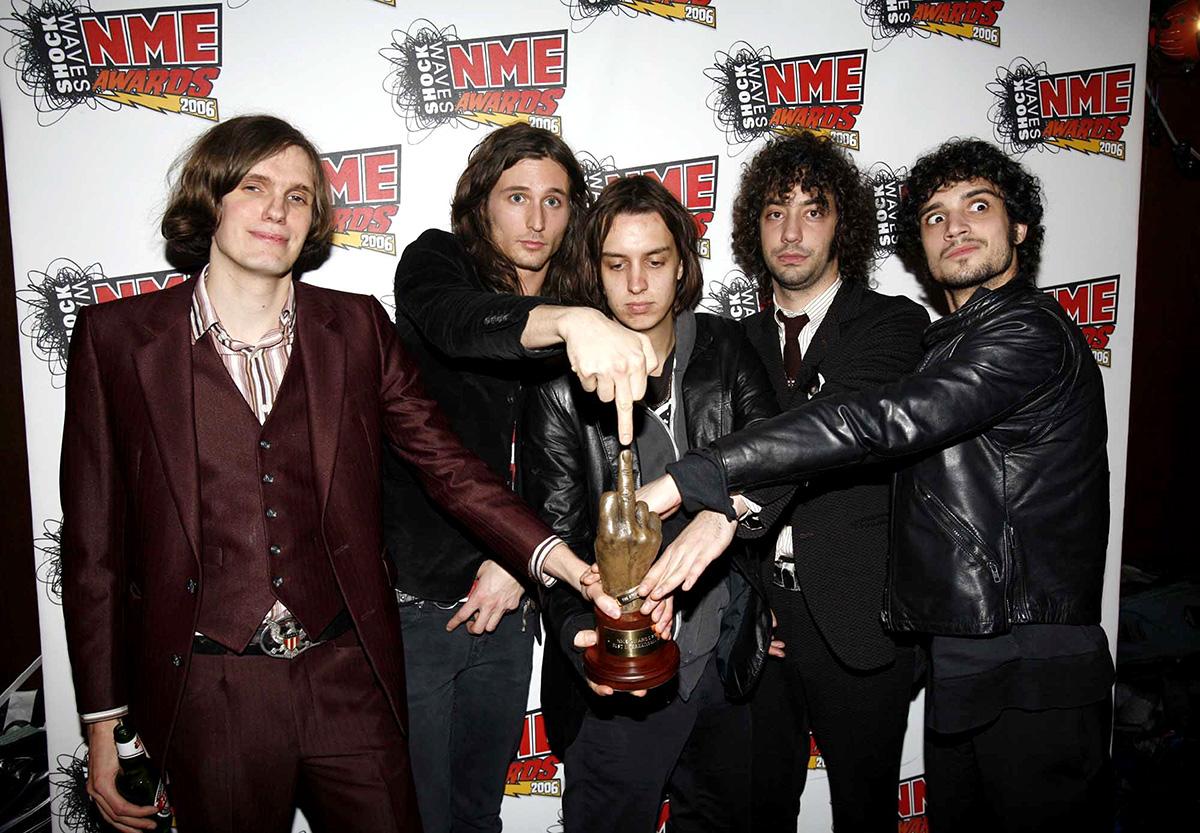 Shockwaves NME Awards 2006 - Press Room
